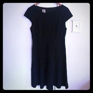 Anne Klein black business dress